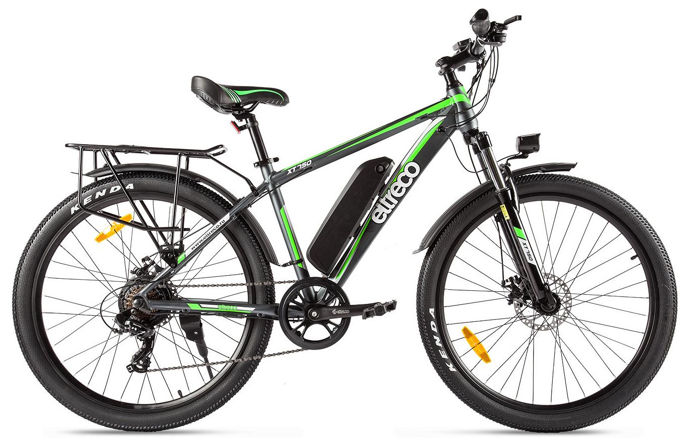 "Электровелосипед Eltreco XT750 2019 18"" серый"