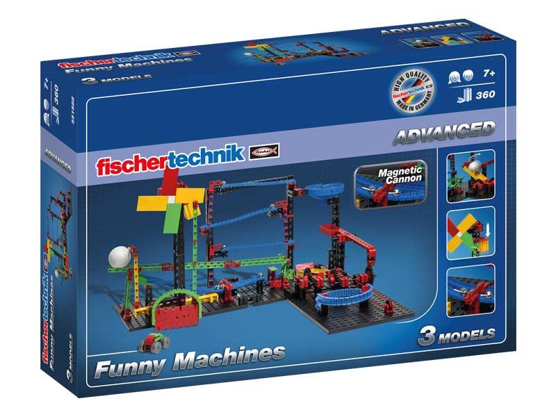 Купить Funny Machines / Веселая кинематика, Конструктор пластиковый Fischertechnik ADVANCED Funny Machines Веселая кинематика, Конструкторы пластмассовые