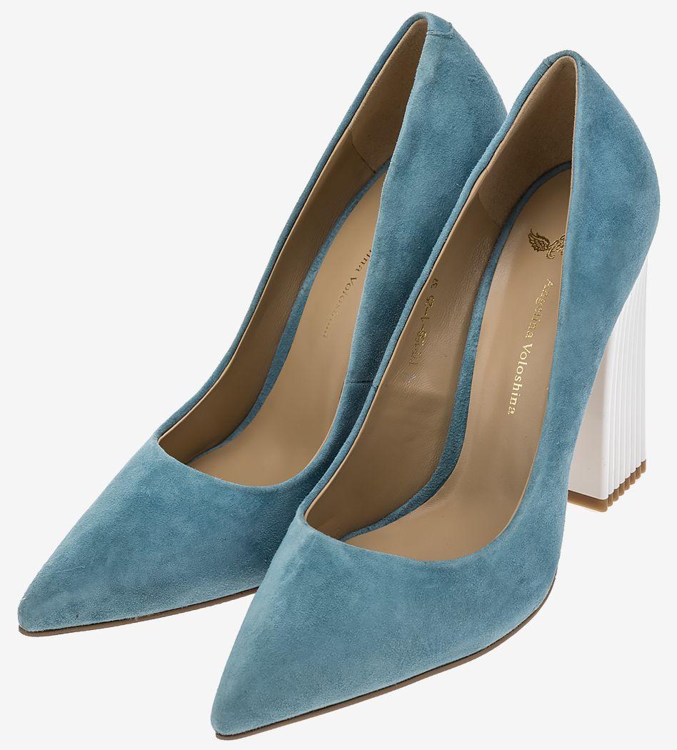 Туфли женские Angelina Voloshina синие