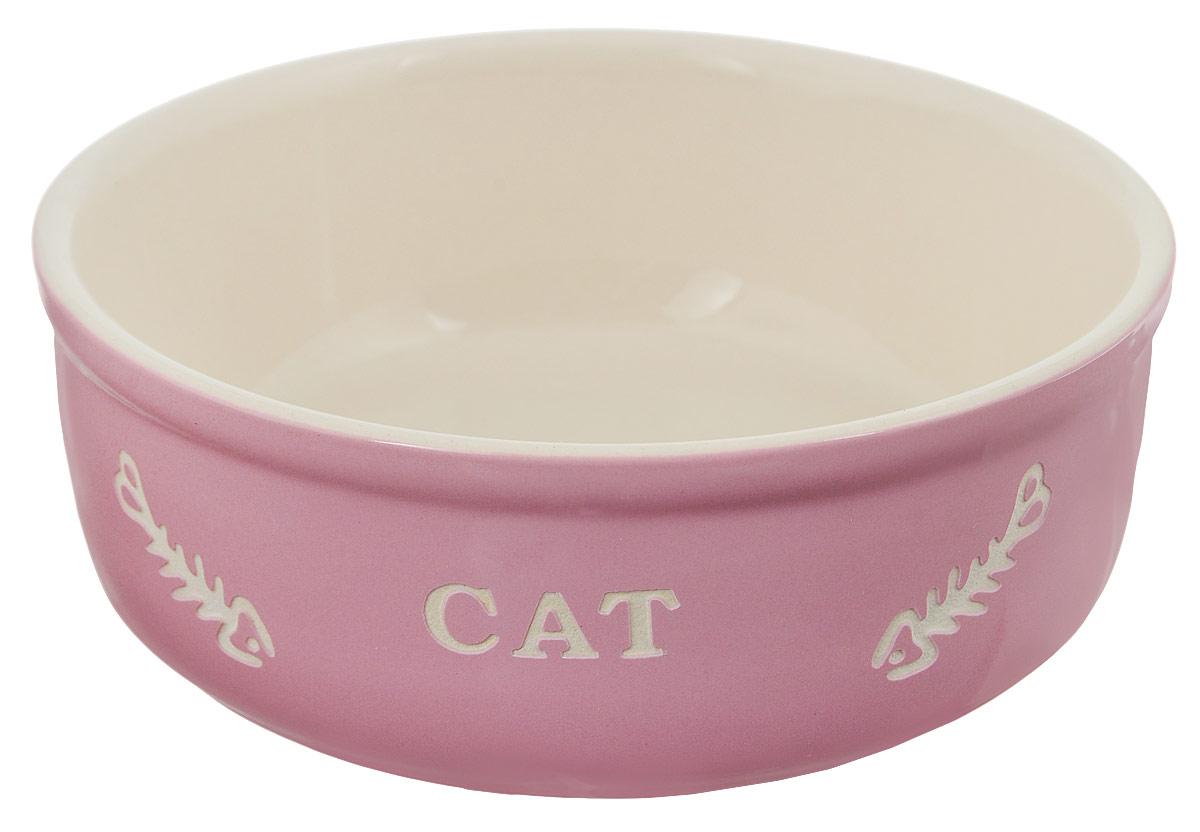 Миска для кошек Nobby керамическая, с надписью