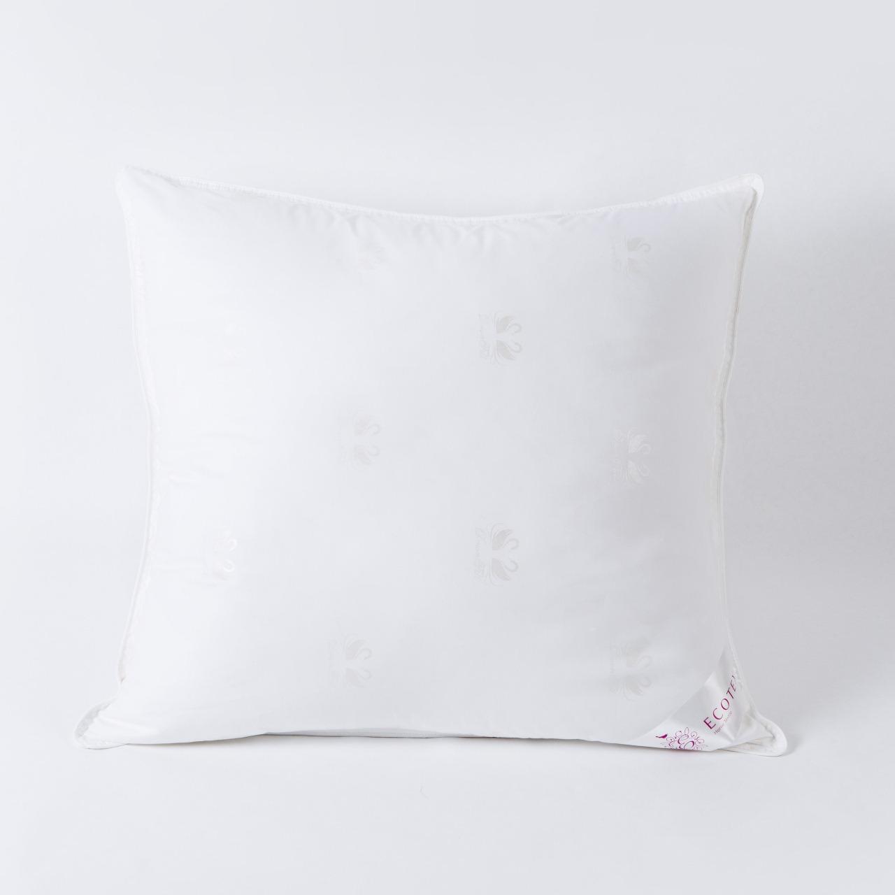 Подушка Ecotex Лебяжий пух 50x70 см