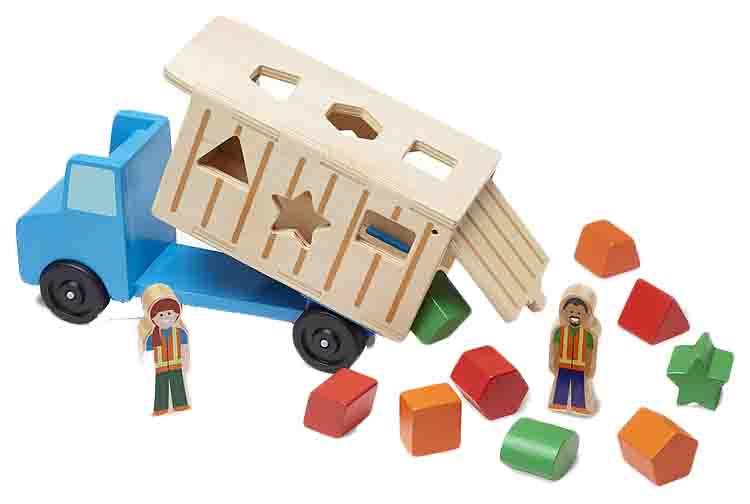 Классические игрушки Самосвал сортировщик, арт. 9397