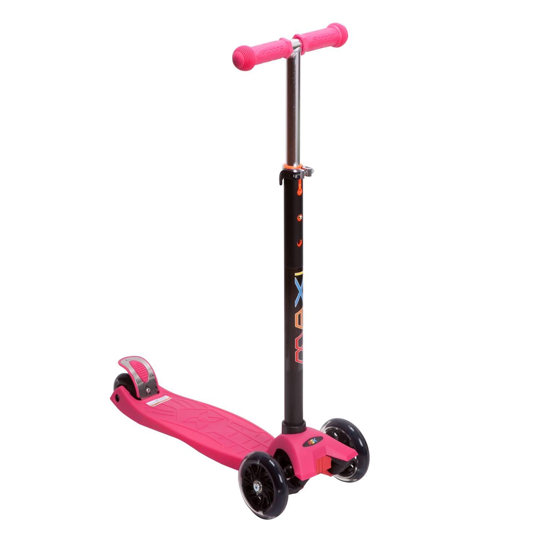 Самокат RGX MAXI LED Pink фото
