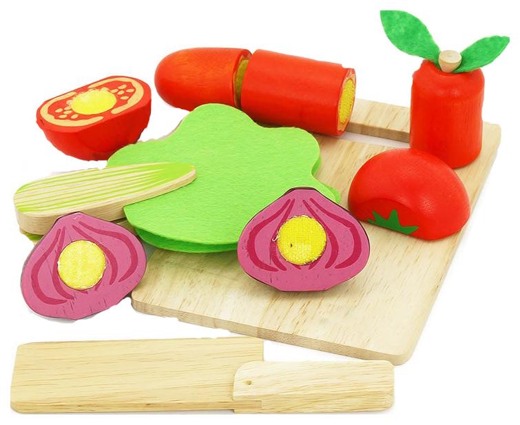 Набор деревянных овощей Vulpi   wood