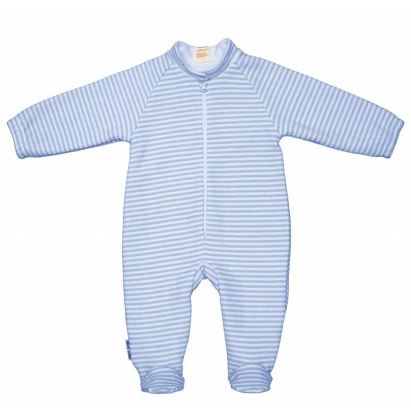 Купить Комбинезон Lucky Child, цв. голубой, 62 р-р, Трикотажные комбинезоны для новорожденных