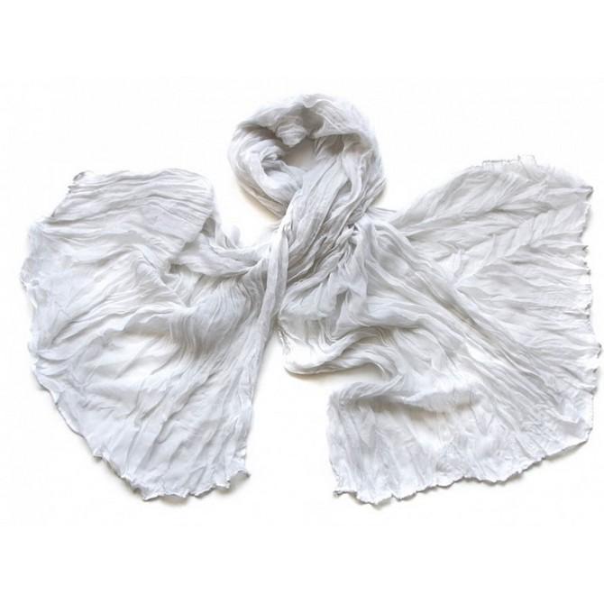 Палантин женский Tranini 0275 белый