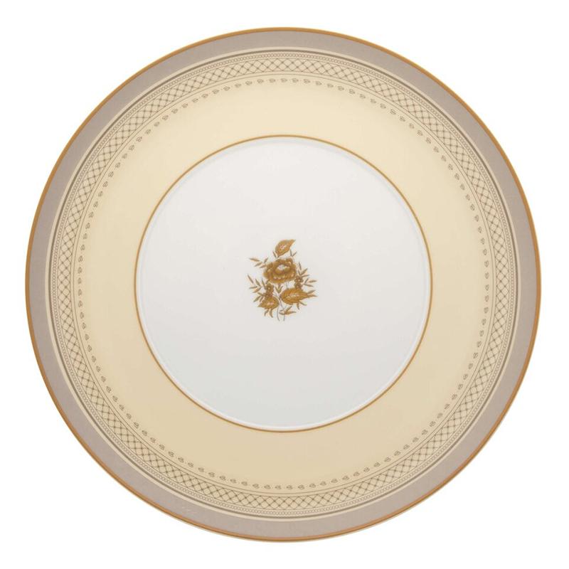 Тарелка десертная 22,9см Vista Alegre HERITAGE, цвет белый, желтый