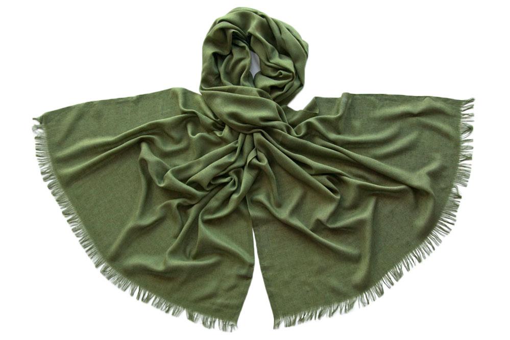 Палантин женский Tranini 1747 зеленый