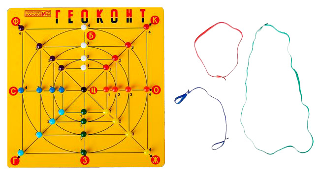 Развивающая игра геоконт - малыш со сказкой Развивающие игры Воскобовича