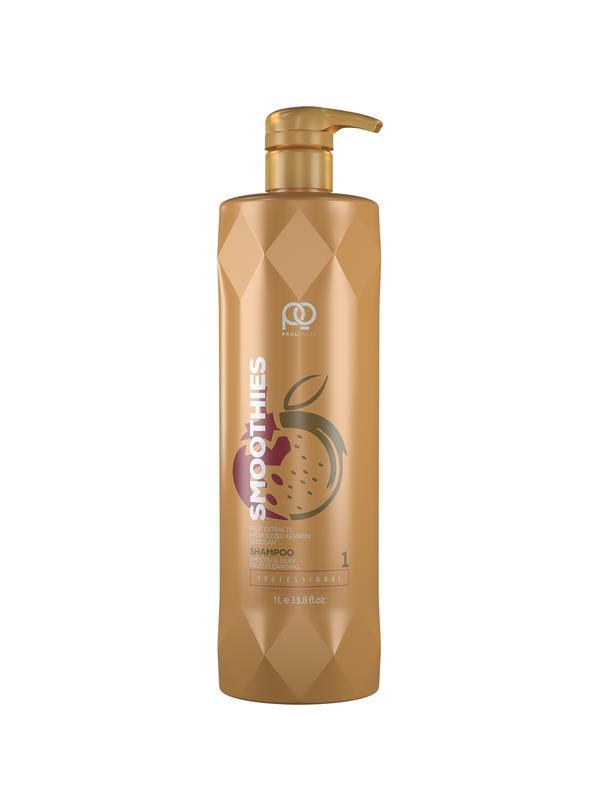 Шампунь Paul Oscar Smoothies Smooth #and# Silky  Fruit Cleansing Shampoo,  step 1, 1000 мл