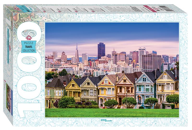 Пазл Step Puzzle 1000 деталей США. Сан-Франциско