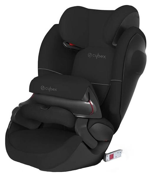 Купить Автокресло Cybex Pallas M-Fix SL Pure Black группа 1/2/3, 9-36 кг, Детские автокресла
