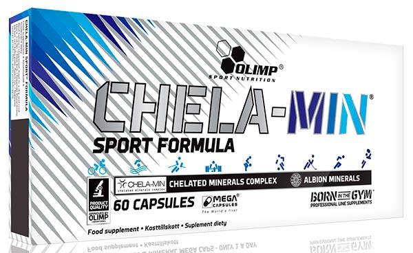 Минеральный комплекс Olimp ChelaMin Sport Formula, 60 капсул
