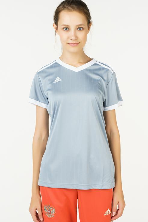 Футболка женская Adidas CE4913 серая L