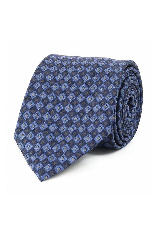 Галстук мужской синий CORNELIANI 90352