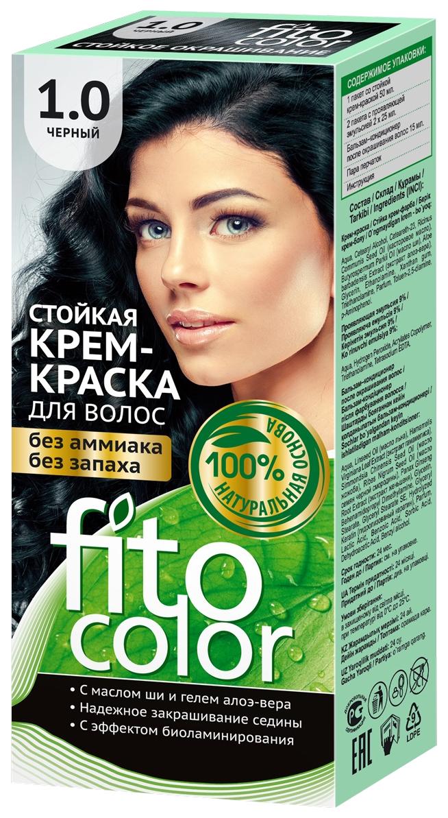 Купить Краска для волос Фитокосметик FitoColor 1.0 Черный 115 мл