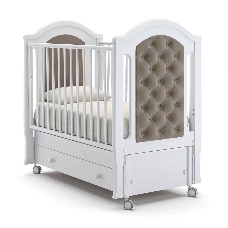Детская кровать Nuovita Grazia swing, белый