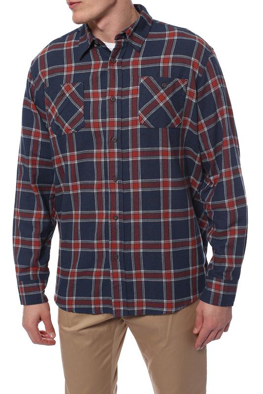 Рубашка мужская Wrangler CA55394 красная 2XL