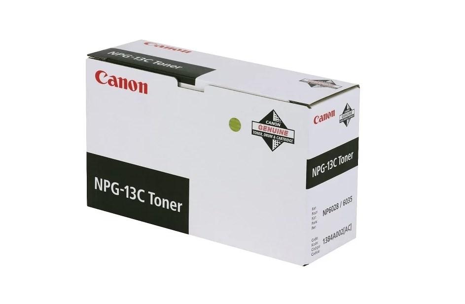 Тонер для лазерного принтера черный CANON NPG-13
