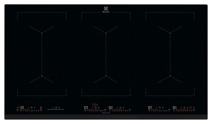 Встраиваемая варочная панель индукционная Electrolux EIV9467 Black
