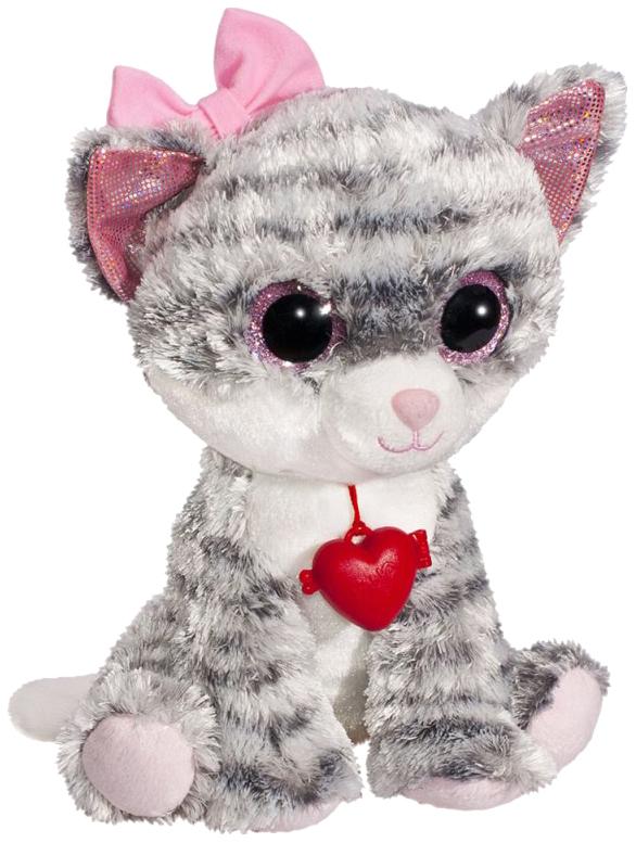 Купить Мягкая игрушка Fancy Глазастик Кошечка GKK0S, Мягкие игрушки животные