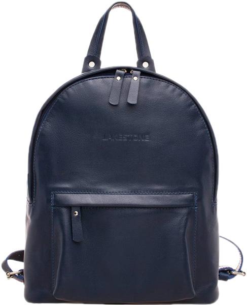 Рюкзак женский кожаный Lakestone 918101/DB фото
