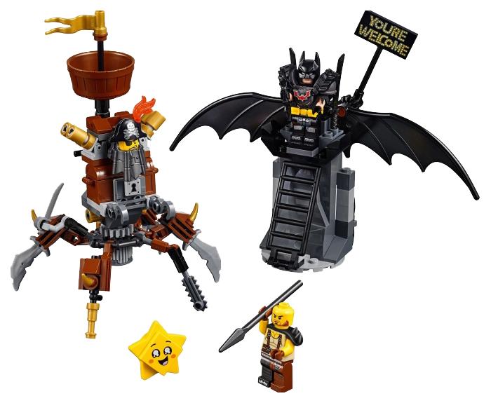 Купить Конструктор lego movie 70836 боевой бэтмен и железная борода, Конструктор LEGO Movie 70836 Боевой Бэтмен и Железная борода, LEGO для девочек
