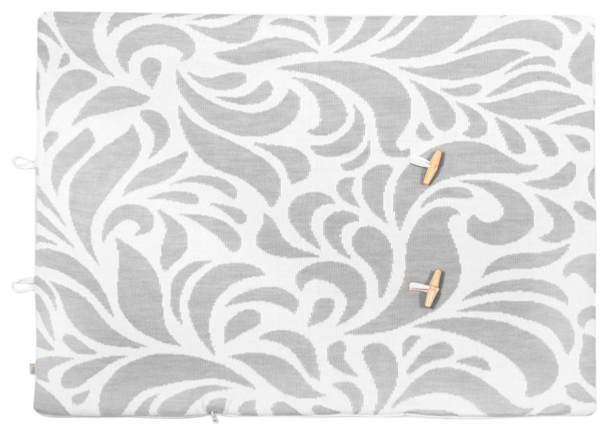 Конверт одеяло с шапочкой Миндаль серый Сонный Гномик