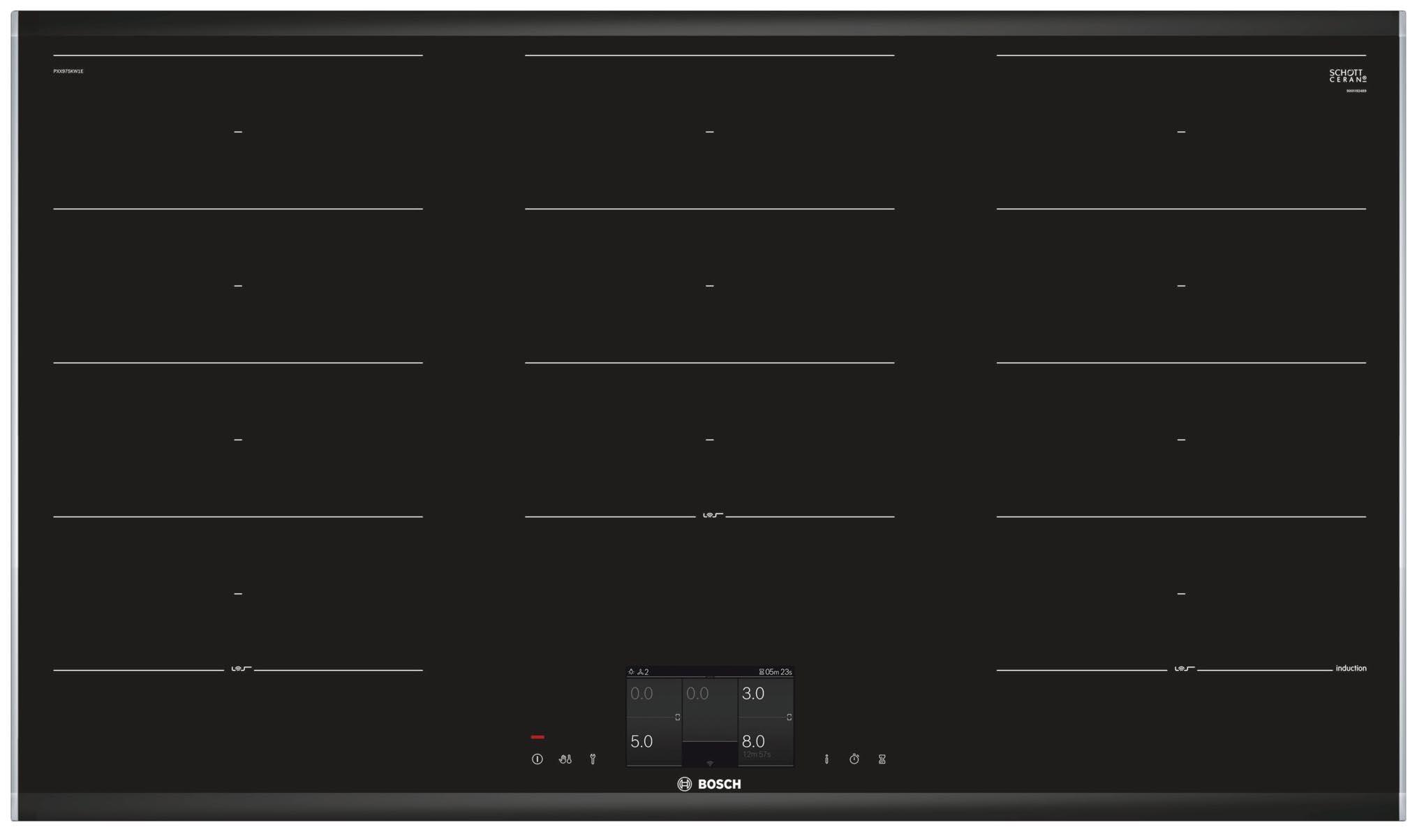 Встраиваемая электрическая варочная панель BOSCH PXX 975 KW 1E