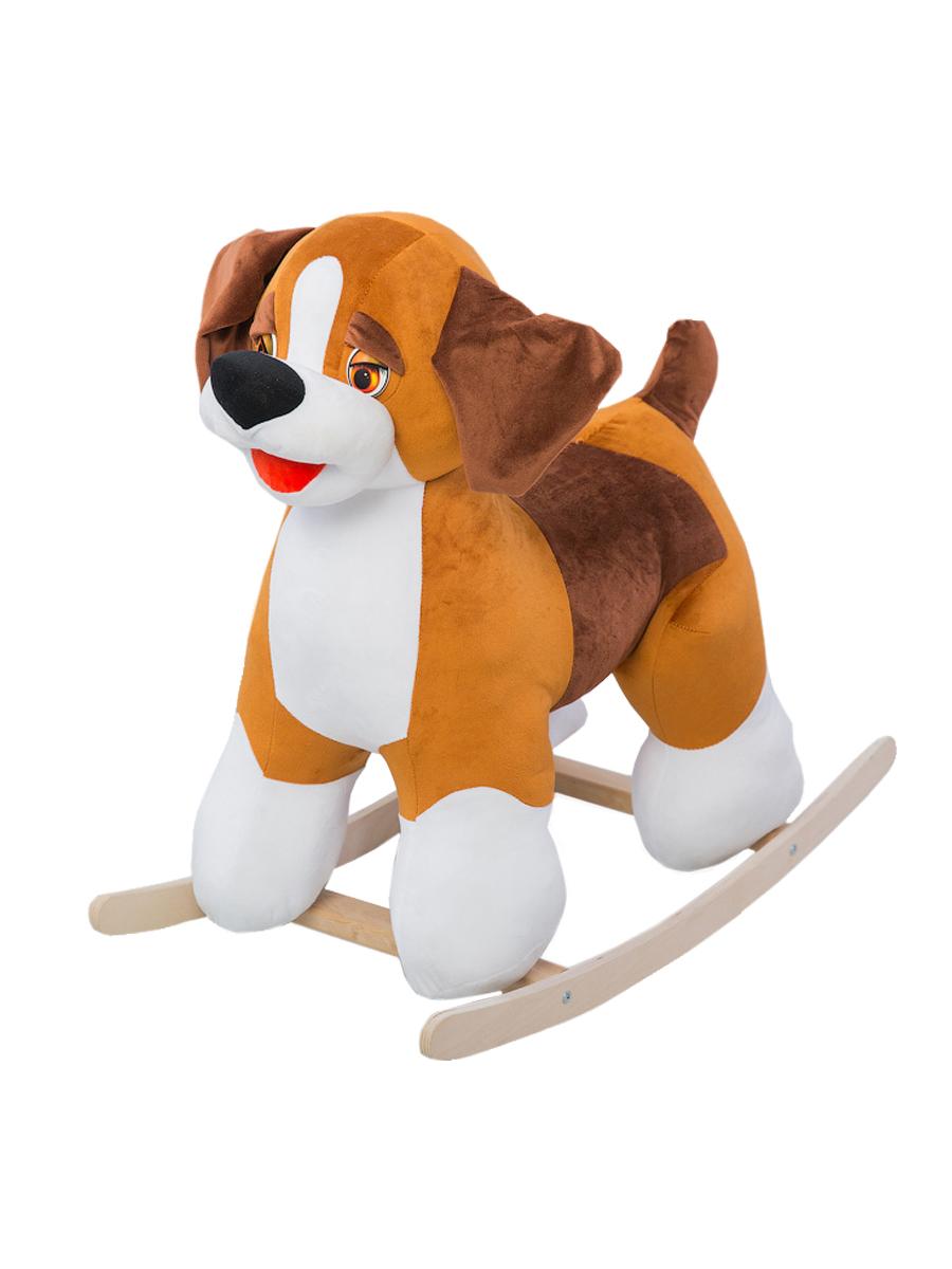 Купить Качалка ToysGo Собака коричневая, Качалки детские