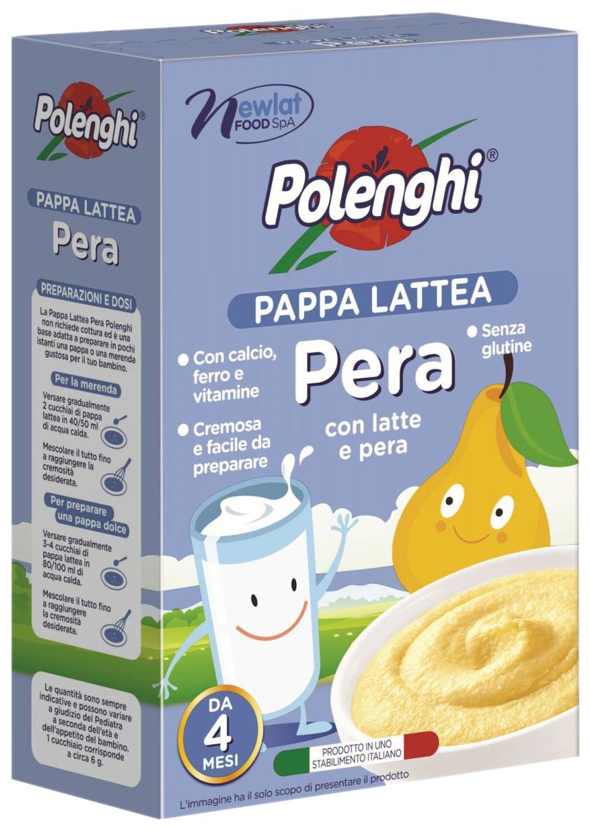 Каша молочная Polenghi Рисовая с грушей