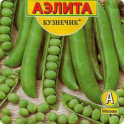 Семена Горох Кузнечик, 25 г, АЭЛИТА