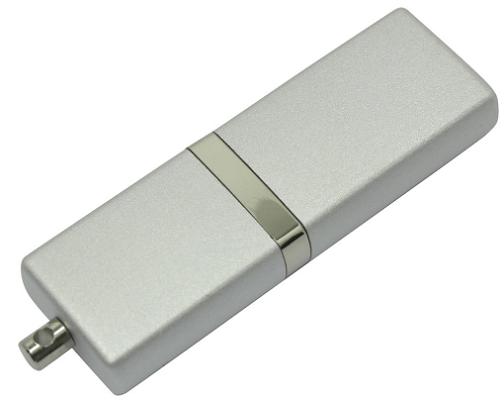 Флешка 8Gb Silicon Power LuxMini 710 USB 2.0 Silver