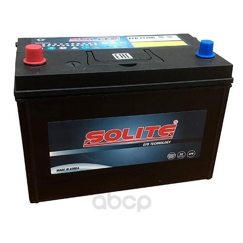 Аккумулятор автомобильный Solite EFBT110R START-STOP 90А/ч 880А полярность прямая фото