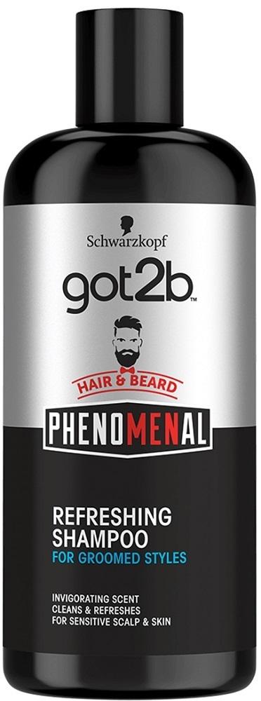 Шампунь для волос и бороды got2b \