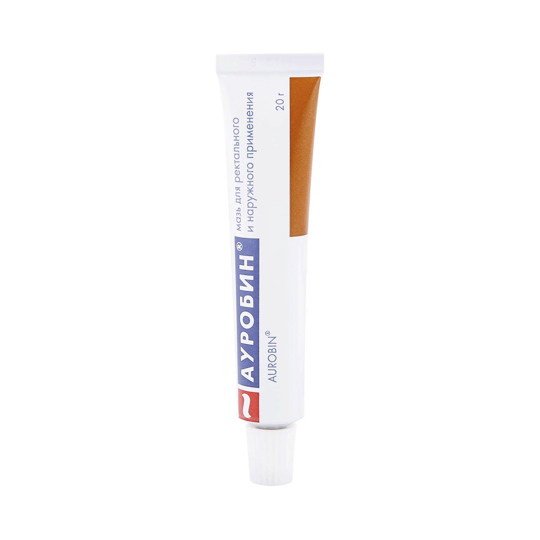 Ауробин мазь для ректального и наружного применения