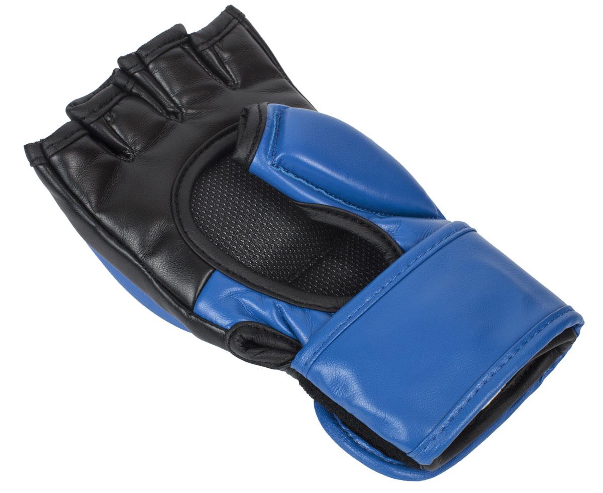 Перчатки для смешанных единоборств Clinch Combat сине-черные L/XL