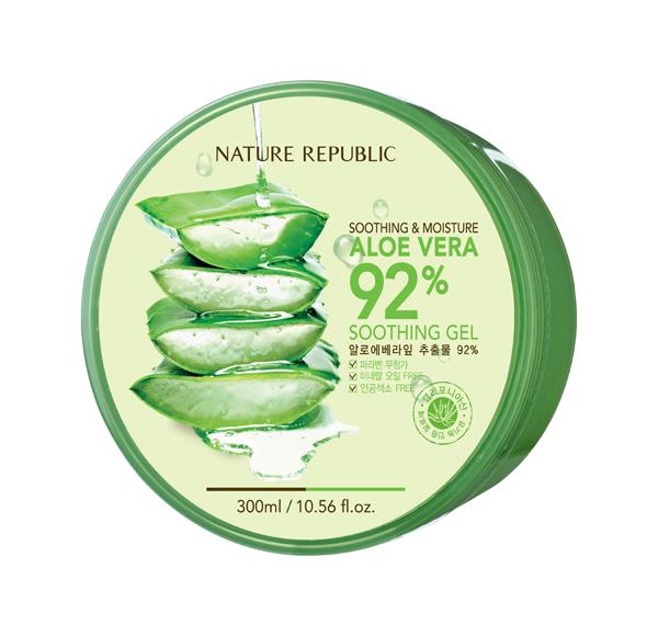 Средство для тела Nature Republic Aloe Vera 92% Soothing Gel 300 мл