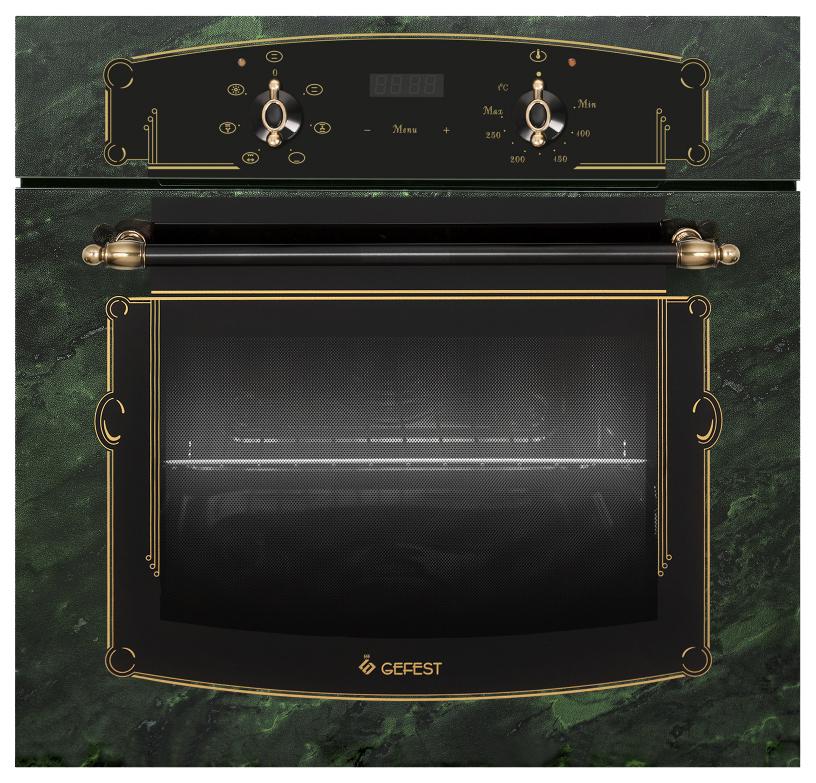 Встраиваемый электрический духовой шкаф GEFEST ДА 622-02 К69 Green