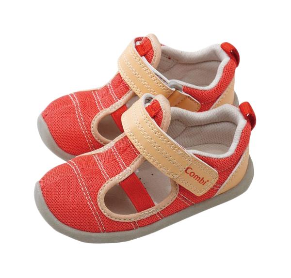 Туфли детские Combi, цв. красный р.25 фото