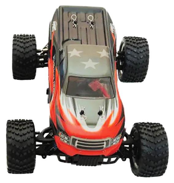 Радиоуправляемая машинка HSP Electric Off-Road KidKing Pro 4WD Красный