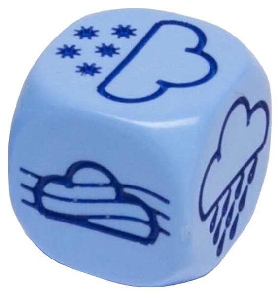 Купить Кубики для настольных игр Pandora's Box Погода 02DG309, Аксессуары и дополнения для игр