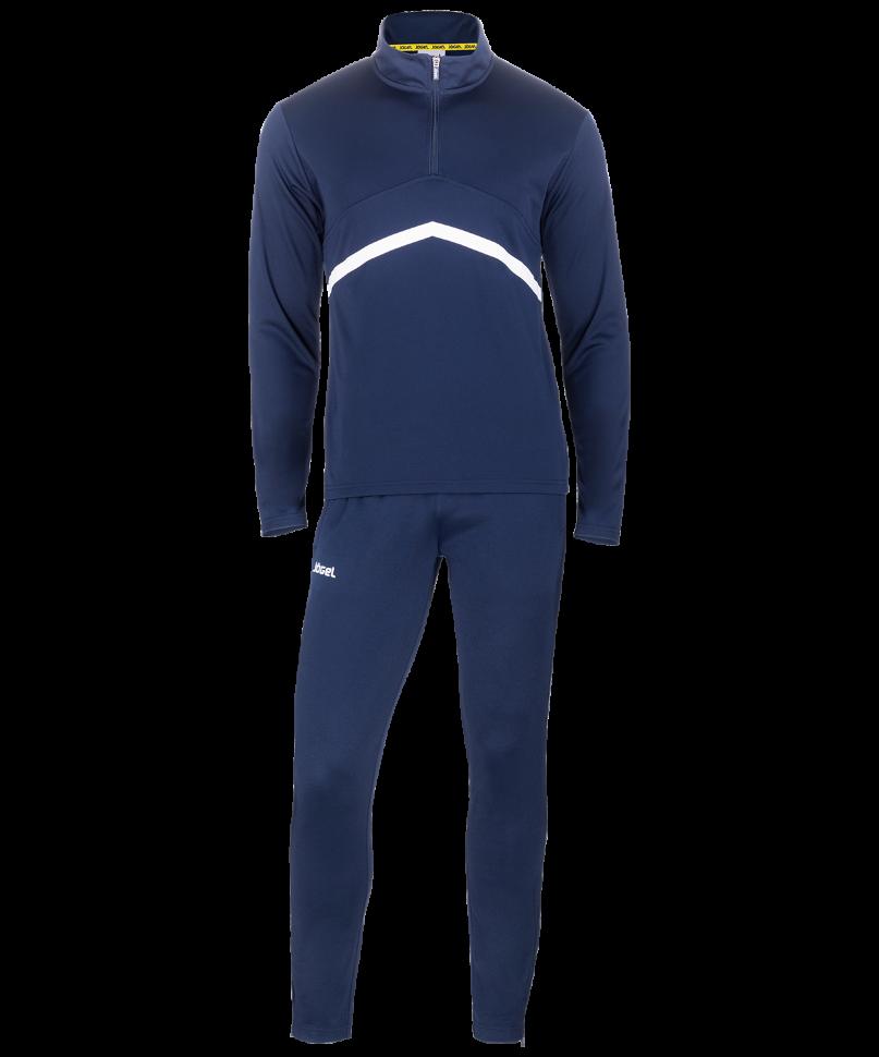 Спортивный костюм Jogel JPS-4301-091, темно-синий/белый, XL INT