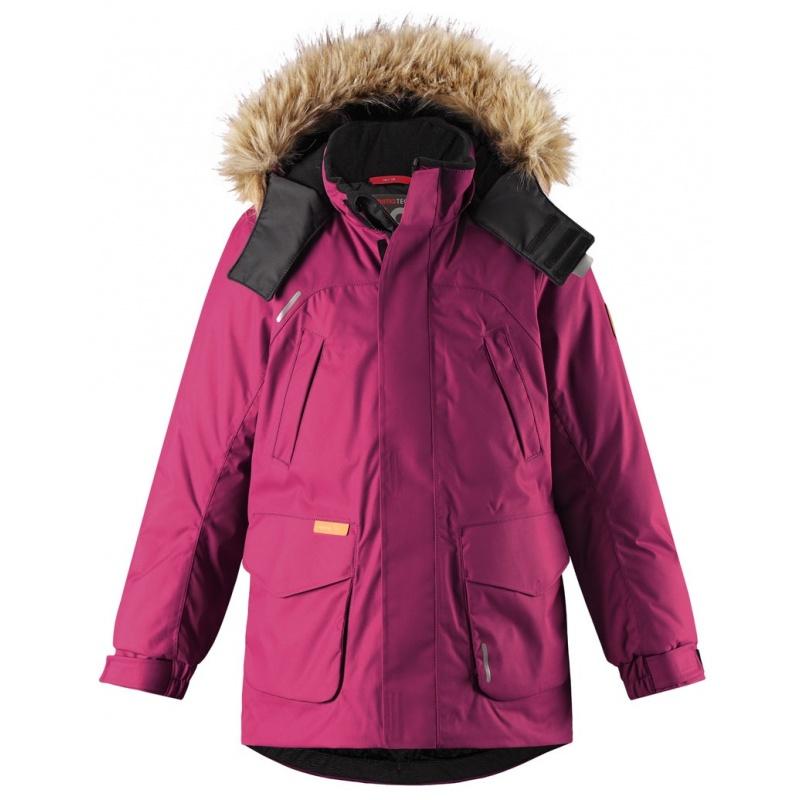 Купить Куртка Serkku REIMA Сливовый р.134, Детские зимние куртки