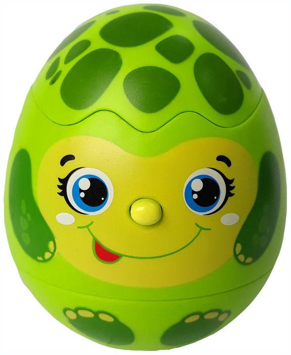 Купить Интерактивное животное Азбукварик Яйцо-сюрприз Черепашка 28215-2, Интерактивные мягкие игрушки