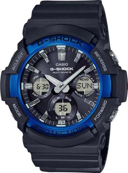 Японские наручные часы Casio G-Shock GAW-100B-1A2 с хронографом фото