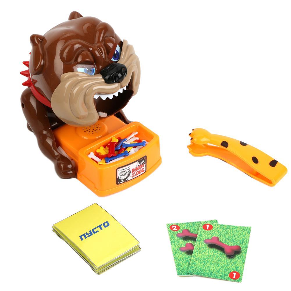 Купить Семейная настольная игра Играем вместе Осторожно, злая собака B1492512-R, Играем Вместе, Семейные настольные игры