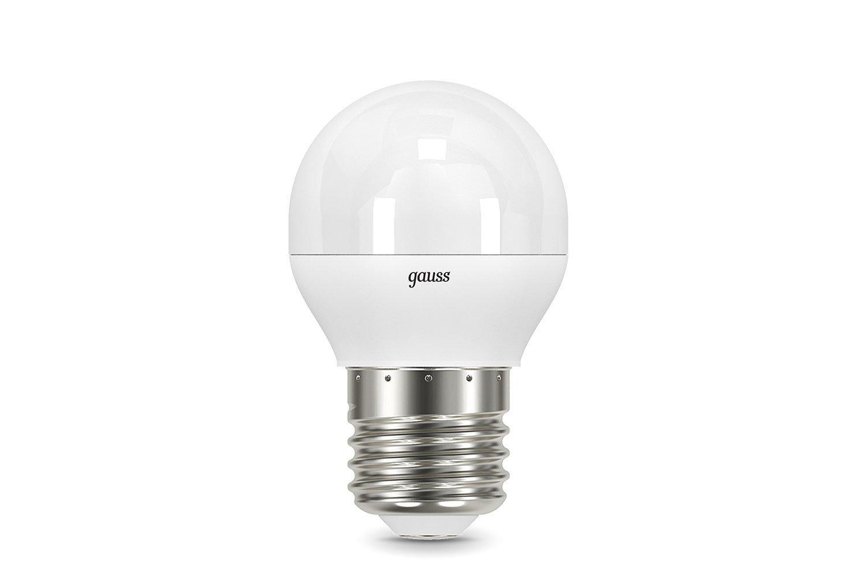 Лампочка Gauss LED Globe 6.5 Вт Светодиодная