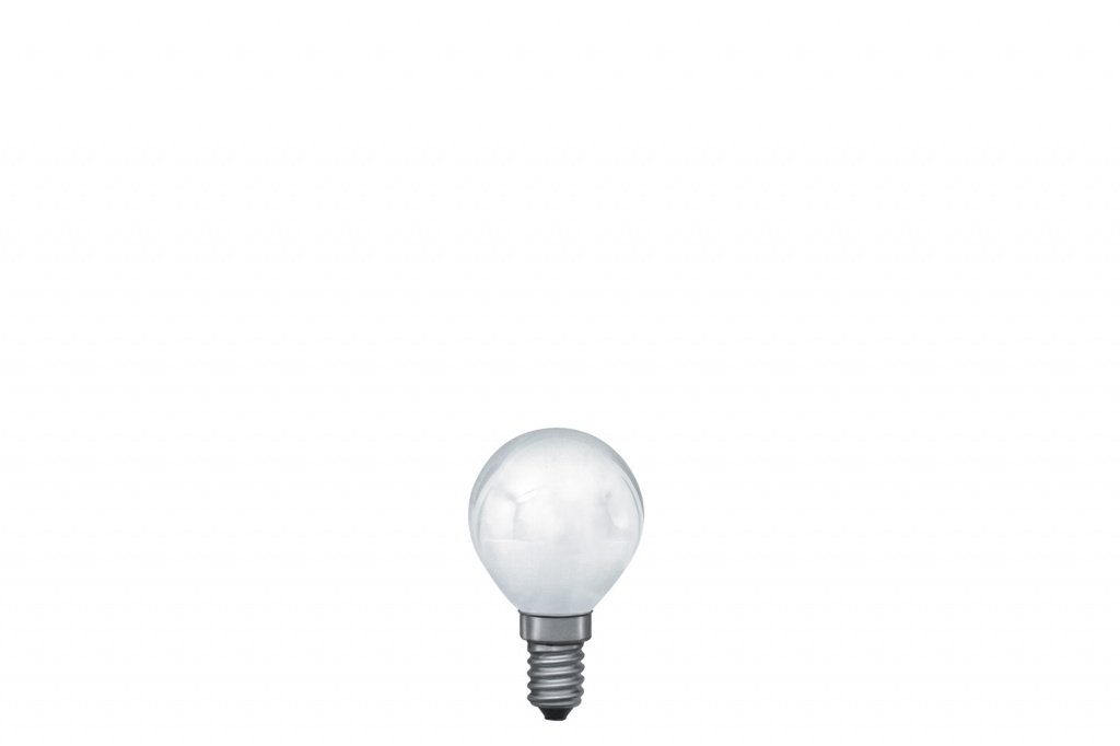 Лампа накаливания 230V 8W Е14 Капля (D-45mm, H-78mm) матовый 12708