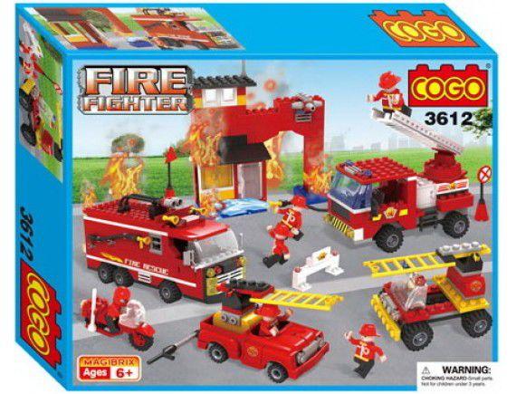 Конструктор COGO Пожарная команда 3612